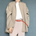 男女兼用のおしゃれユニセックスシャツのコーデ紹介!【O0u(オー・ゼロ・ユー)】